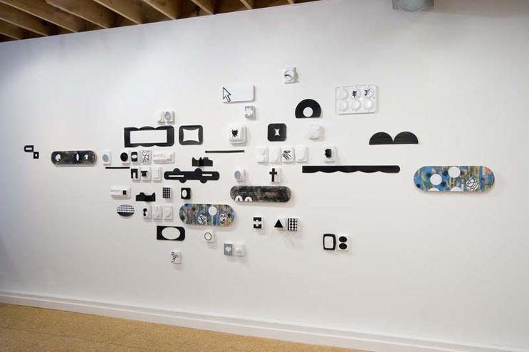 Convoy, mixed media, dimensions variable, 2009